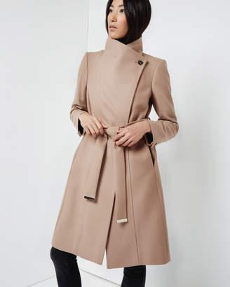 Ted Baker LORILI Long wool wrap coat