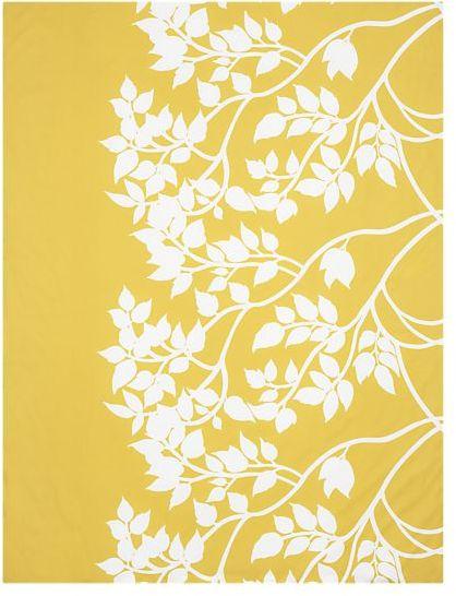 Marimekko® Madison Yellow Twin Comforter