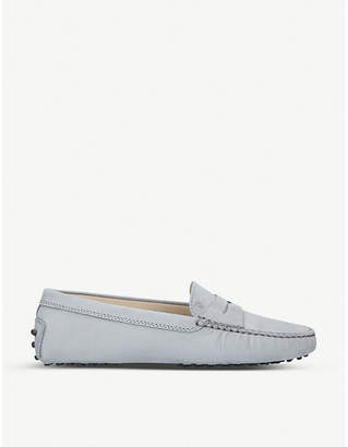 Tod's Tods Mocassino suede driving shoes