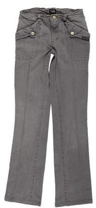 Dolce & Gabbana Low-Rise Wide-Leg Jeans