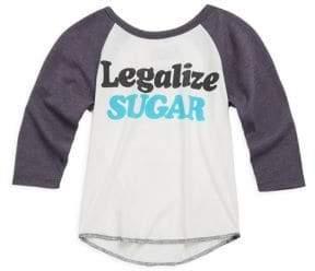 Prefresh Baby's, Toddler's, Little Boy's& Boy's Legalize Sugar Raglan Tee