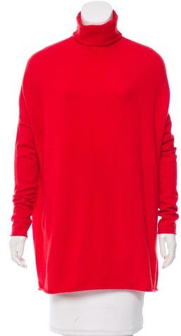 Tory Burch Tory Burch Turtleneck Cashmere Sweater