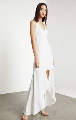 BCBGMAXAZRIA Sleeveless High Low Dress