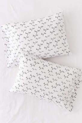 Theory Ceramics And UO Exclusive Hey Boo Pillowcase Set