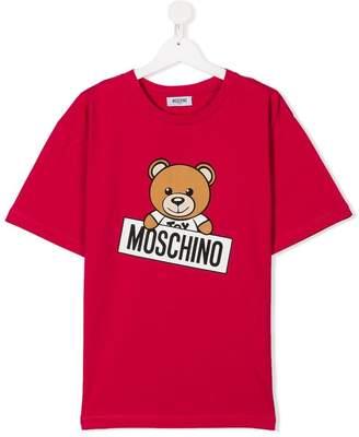 Moschino Kids TEEN teddy bear print T-shirt