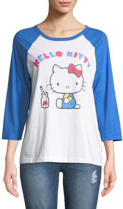 Chinti and Parker x Hello Kitty Graphic Baseball Tee