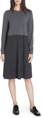 Eileen Fisher Stretch Tencel(R) A-Line Dress