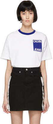 Calvin Klein Jeans White Graphic T-Shirt