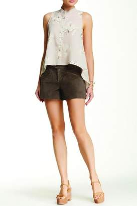 BB Dakota Brown Suede Short