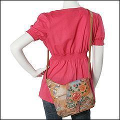 Anuschka 257 Pra (Premium Rose Antique) - Bags and Luggage