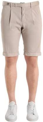 G・T・A Slim Light Gabardine Stretch Shorts