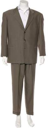 HUGO BOSS Velvet Notch-Lapel Suit