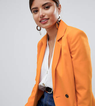 Missguided Button Detail Tailored Blazer
