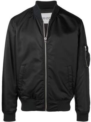 Kenzo zipped up bomber jacket