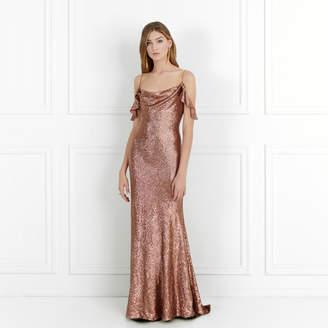 Rachel Zoe Cecilia Fluid Sequin Gown
