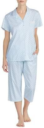 Eileen West Sleepwear Cotton Crop Pajamas