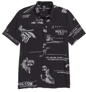 Volcom Graphic Woven Shirt