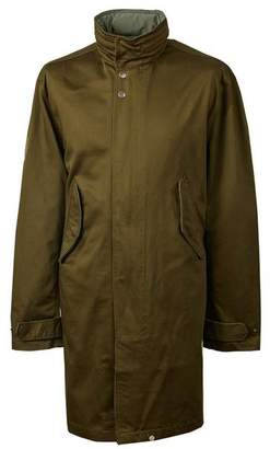 Pretty Green Hooded Mac