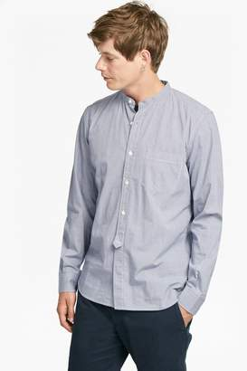 French Connenction Gallery Gingham Peached Cotton Shirt