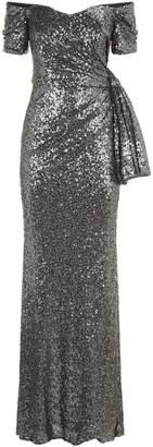 Badgley Mischka Sequin Gown