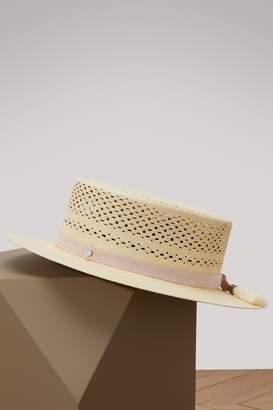 Maison Michel Kiki boater hat