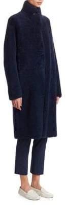 Akris Trace Shearling Reversible Coat