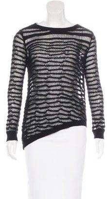 Inhabit Open Knit Asymmetrical Sweater $65 thestylecure.com