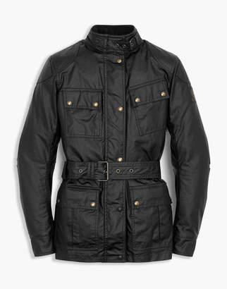 Belstaff Classic Tourist Trophy 4-Pocket Motorcycle Jacket Black