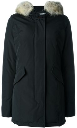 Woolrich fur-trimmed down parka $706.43 thestylecure.com