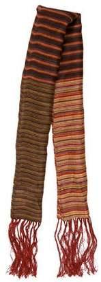 Max Mara Weekend Striped Linen Scarf