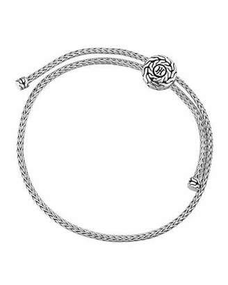 John Hardy Classic Chain Silver Knot Bracelet