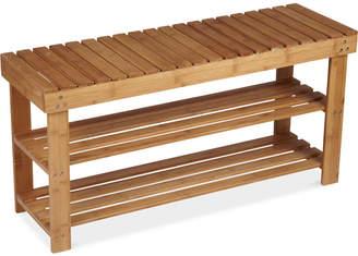 Household Essentials 2-Shelf Storage Bench