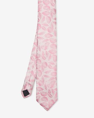 Leaf print silk tie $105 thestylecure.com