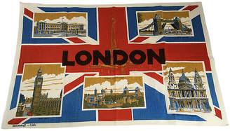 One Kings Lane Vintage London Tea Towel