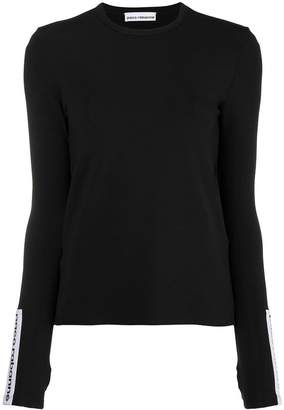 Paco Rabanne logo long sleeve T-shirt