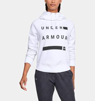 Under Armour Women's UA Favorite Fleece Pullover Graphic Hoodie