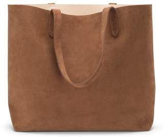 Cuyana Suede Classic Structured Leather Tote