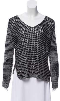 Helmut Lang Lightweight Open-Knit Sweater