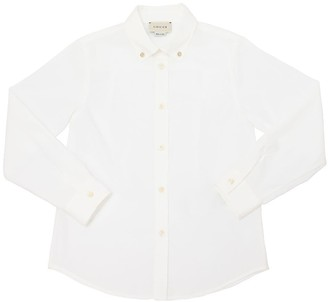 Gucci Button Down Cotton Poplin Shirt