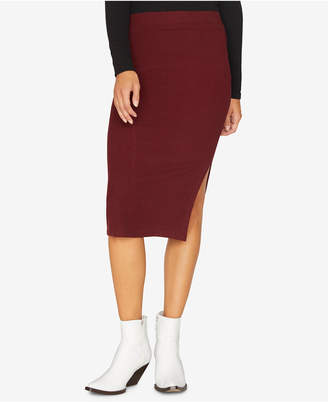 Sanctuary Essentials Ribbed Pencil Skirt