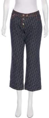 Christian Dior Diorissimo Mid-Rise Jeans
