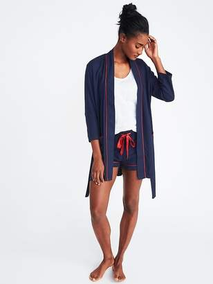 Old Navy Relaxed Tie-Belt Robe for Women