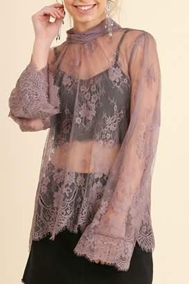Umgee USA Angel Sleeve Lace