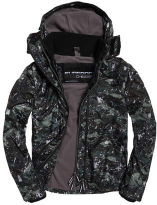 Superdry Pop Zip Print Hooded Arctic SD- Windcheater Jacket