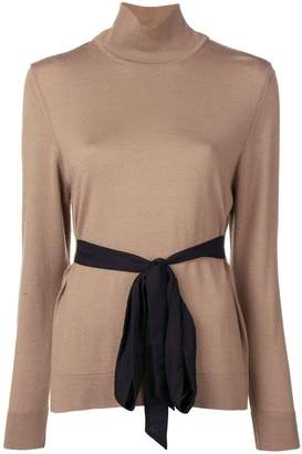 Simone Rocha Geogette bow tie sweater