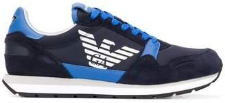 Emporio Armani logo sneakers