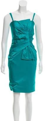 Flavio Castellani Sleeveless Pleated Dress