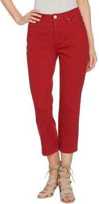 Belle By Kim Gravel Belle by Kim Gravel Flexibelle Cropped Jeans