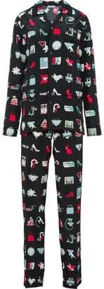 Prada Pongé pajamas