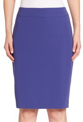 Armani Collezioni Cady Pencil Skirt $475 thestylecure.com